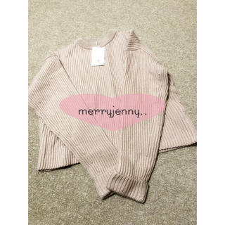 merry jenny - 新品未使用merryjennyニット