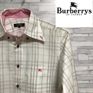 BURBERRY BLACK LABEL - 【レアカラー】 burberry black label  ノバチェック三陽商会