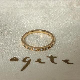 アガット(agete)の断捨離中#様☆ アガット ピンキーリング(リング(指輪))