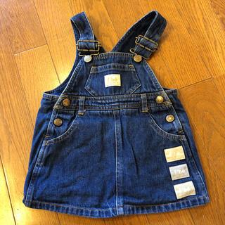 BeBe - bebe ジャンパースカート 80cm