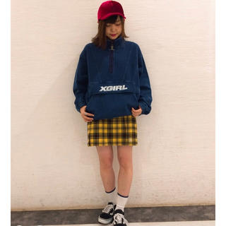X-girl ANORAK SWEAT TOP 売り切り価格!