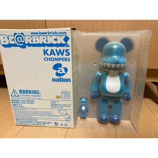 MEDICOM TOY - KAWS BE@RBRICK 400% 100%セット  a-nation