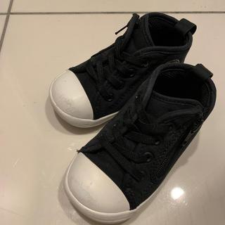 CONVERSE - converse  ベビースニーカー 黒色 13.5cm