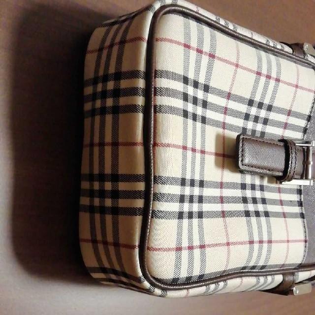 BURBERRY(バーバリー)のバーバリーショルダーバッグサコッシュ 極美品ノバチェック✕ダークブラウン レディースのバッグ(ショルダーバッグ)の商品写真