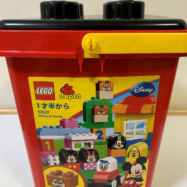 Lego(レゴ)のLEGO レゴ デュプロ 10531 ミッキー&フレンズのバケツ ミッキー キッズ/ベビー/マタニティのおもちゃ(積み木/ブロック)の商品写真