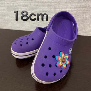 クロックス(crocs)の【CROCS】キッズ サンダル 18cm(サンダル)