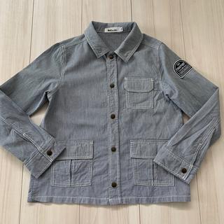 ベベノイユ(BEBE Noeil)のnoeil シャツジャケット 130(ジャケット/上着)
