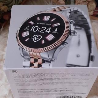 マイケルコース(Michael Kors)の新品 マイケル・コース LEXINGTON 2 MKT5080(腕時計(デジタル))