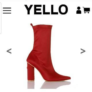 イエローブーツ(Yellow boots)の新品未使用Sサイズ(ブーツ)