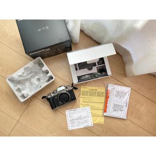 フジフイルム(富士フイルム)の未使用に近い 超美品 FUJIFILM X-T3 ボディ(ミラーレス一眼)