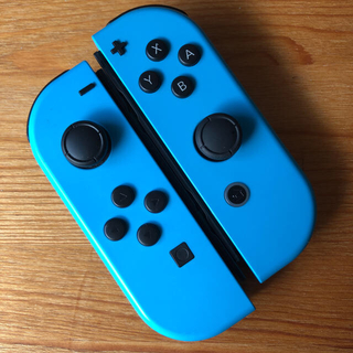Nintendo Switch - 美品 Switch ジョイコン ニンテンドー ネオンブルー×ネオンブルー