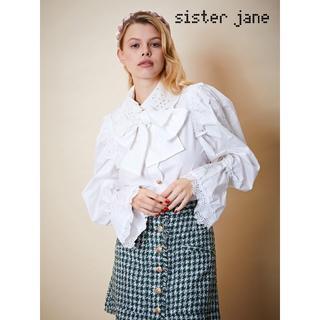 Sister Jane シスタージェーン フリルスリーブレースブラウス(シャツ/ブラウス(長袖/七分))