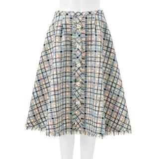 Chesty - chesty ツイードフレアスカート