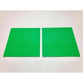 Lego - 【新品未使用】レゴ LEGO  プレート 16×16 グリーン 2枚