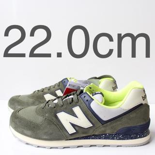 New Balance - 新品 ニューバランス ML574 HVC コバルトグリーン 22.0cm