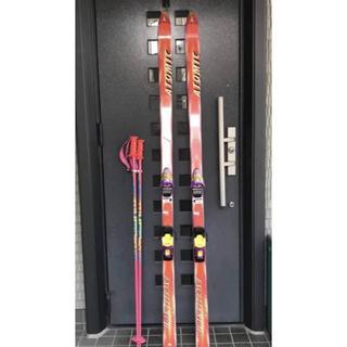 アトミック(ATOMIC)の私をスキーに連れてって?★アトミック スキー板セット★1990年代スキーバブル(板)