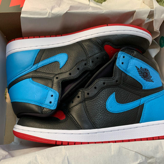 "ナイキ(NIKE)のNIKE WMNS AIR JORDAN1 ""UNC TO CHICAGO""(スニーカー)"