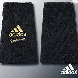 adidas - 新品 adidas baseball professional リストバンド 黒