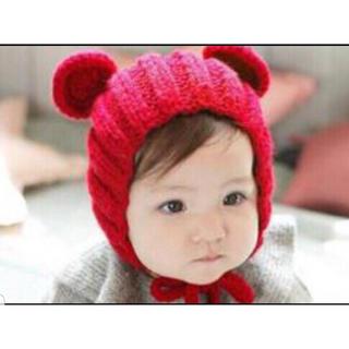 ラスト1個 新品未開封 赤ちゃん帽子 帽子 子ども 小物 子供 ベビー帽子