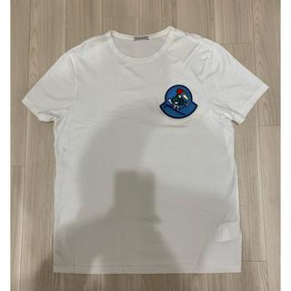 MONCLER - [極美品]モンクレール ロゴ Tシャツ 18ss