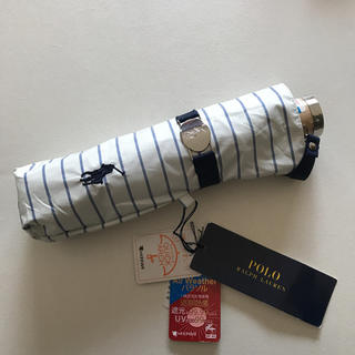 POLO RALPH LAUREN - ラルフローレン 遮光 晴雨兼用 折りたたみ傘 日傘  新品