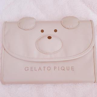 ジェラートピケ(gelato pique)のジェラートピケ*クマ*母子手帳ケース(母子手帳ケース)
