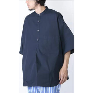 COMOLI - Graphpaper Stevensons Band Collar Shirts