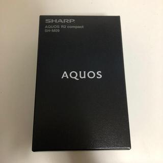 SHARP - AQUOS R2 compact SH-M09 ディープホワイト