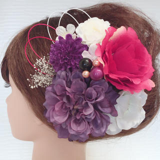 お得な10点セット*多種のお花*結婚式 ドレス 浴衣 前撮り 成人式 着物(ヘアピン)