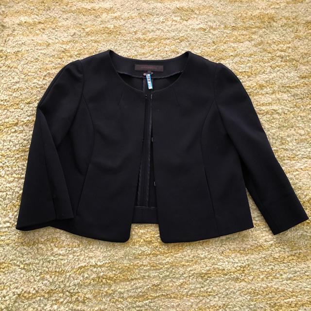 ANAYI(アナイ)のMANOUQUA マヌーカ ブラックスーツ レディースのフォーマル/ドレス(スーツ)の商品写真