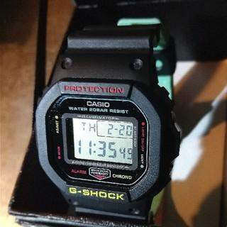 ジーショック(G-SHOCK)のDW-5600CMB-1JF G-SHOCK ラスタカラー メンズ 腕時計 中古(腕時計(デジタル))