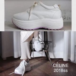 celine - celine フィービー 2018完売ボリュームデリバリースニーカー