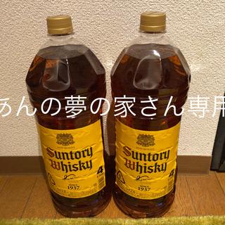 サントリー(サントリー)の角ウィスキー 4L 2本 (ウイスキー)