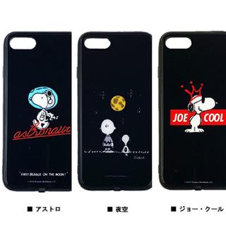 SNOOPY - スヌーピー  iPhone8/7/6s/6対応 光るフラッシュケースケース