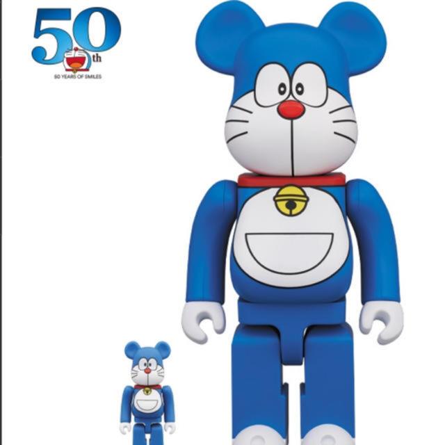 MEDICOM TOY(メディコムトイ)のベアブリック BE@RBRICK ドラえもん 100%&400% エンタメ/ホビーのおもちゃ/ぬいぐるみ(キャラクターグッズ)の商品写真