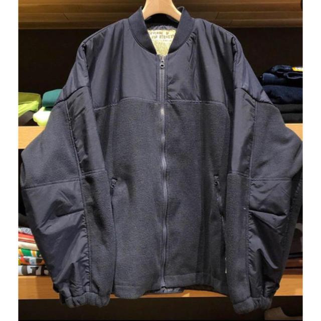 1LDK SELECT(ワンエルディーケーセレクト)の新品タグ付 AH.H BEAMS SSZ NYPD フリース XL メンズのジャケット/アウター(その他)の商品写真