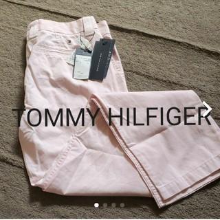 トミーヒルフィガー(TOMMY HILFIGER)のTOMMY HILFIGERピンクパンツ(カジュアルパンツ)