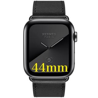 エルメス(Hermes)の新品 アップルウォッチ series5 エルメス 44mm スペースブラック(腕時計(デジタル))