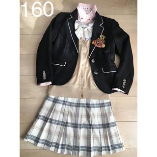 repipi armario - 卒業式 女の子160レピピ卒服 ブランドフォーマル スーツ一式セット