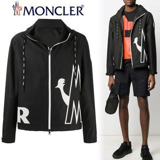モンクレール(MONCLER)の9 MONCLER20ss MYTHOS ブラック ジップアップ パーカー 3(ブルゾン)