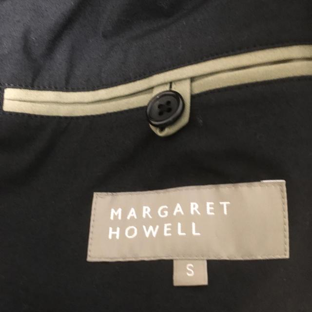 MARGARET HOWELL(マーガレットハウエル)の値段交渉可能未使用マーガレットハウエルショートトレンチコート メンズのジャケット/アウター(ピーコート)の商品写真
