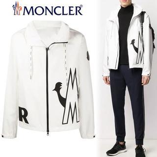 MONCLER - 10 MONCLER20ss MYTHOS ホワイトジップアップ パーカー 1