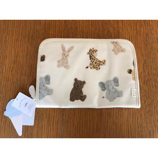 ジェラートピケ(gelato pique)の『新品・未使用・タグつき』アニマル柄母子手帳ケース(母子手帳ケース)
