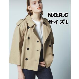 新品! NORC ノーク ショート トレンチ トレンチコート N.O.R.C