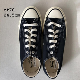 CONVERSE - Converse ct70 チャックテイラー ブラック 24.5cm