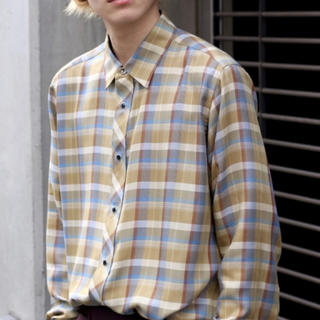 JOHN LAWRENCE SULLIVAN - littlebig 19aw チェックシャツ ほぼ未使用