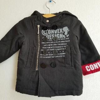 コンベックス(CONVEX)のコンベックス 中綿 ジャケット コート 黒 ブラック(ジャケット/上着)