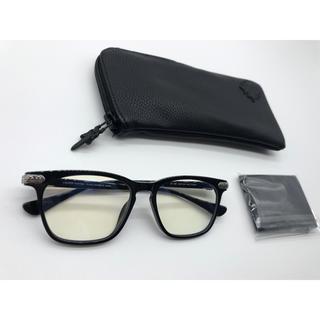 Chrome Hearts - クロムハーツ メガネ サングラス GISS クロス ブラック 黒 新品
