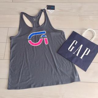 ギャップ(GAP)の新品 gapfit タンクトップ ロゴ トレーニング ジム ヨガ ランニング(タンクトップ)
