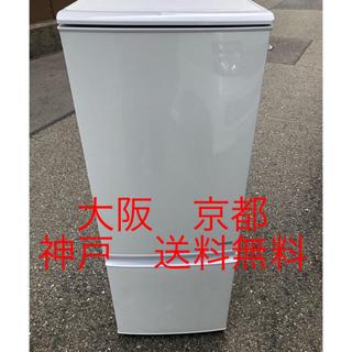 シャープ(SHARP)のシャープ ノンフロン冷凍冷蔵庫  SJ-C17B-W        (冷蔵庫)